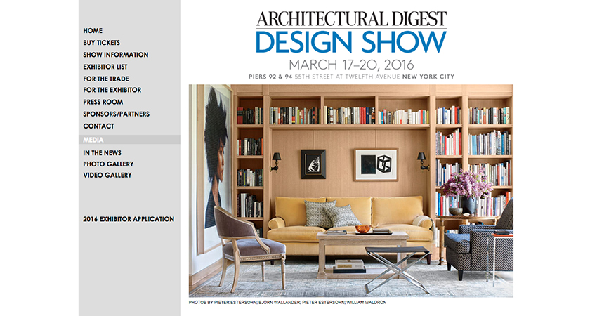 Architectural digest design show builder and developer for Architectural digest house plans