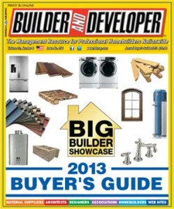Builder and Developer April 2013