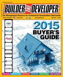Builder and Developer April 2015