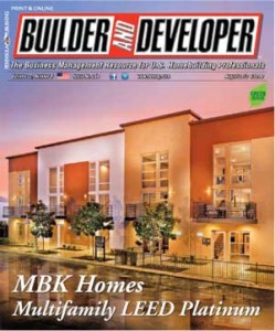 Builder and Developer August 2012