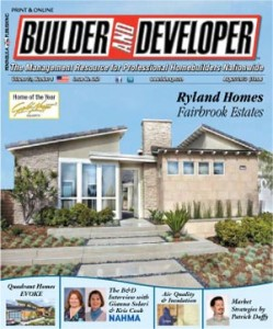 Builder and Developer August 2013
