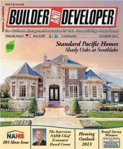Builder and Developer January 2013