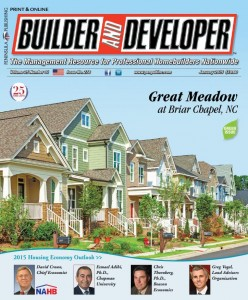 Builder and Developer January 2015