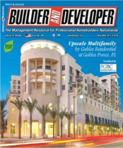 Builder and Developer November 2013