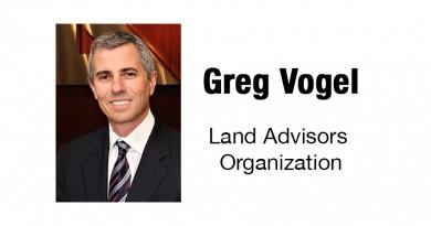 Greg Vogel of Land article