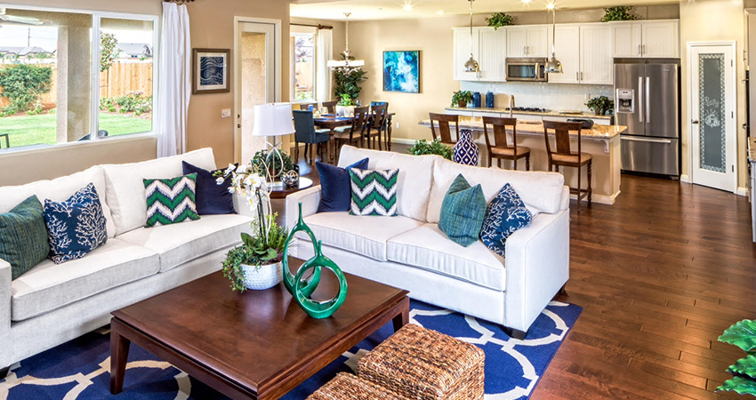 The versatility of the homes will appeal to buyers throughout the spectrum, but SJV Homes has noted that most buyers tend to be well-educated professionals with families, in addition to buyers looking to downsize a bit from large custom homes.