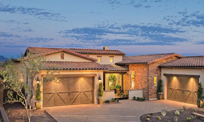 Southwestern luxury in this scottsdale community builder for Home builder magazines