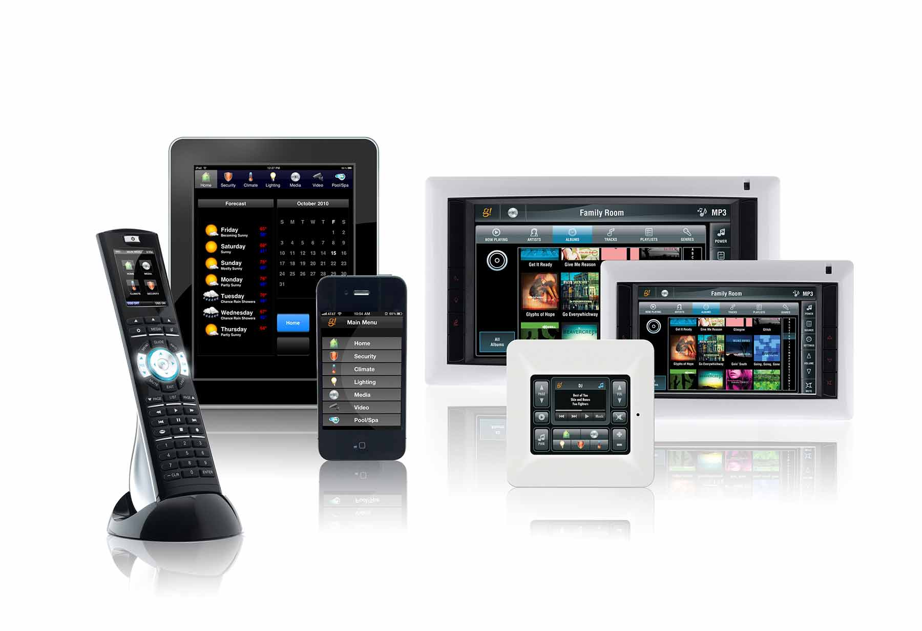 ELAN From state-of-the-art volume controls to award-winning Touch Panels and Touchpads, ELAN has products that can control and access all in-home equipment with ease, including apps for home and remote control via iPhone, iPad or PC. www.elanhomesystems.com