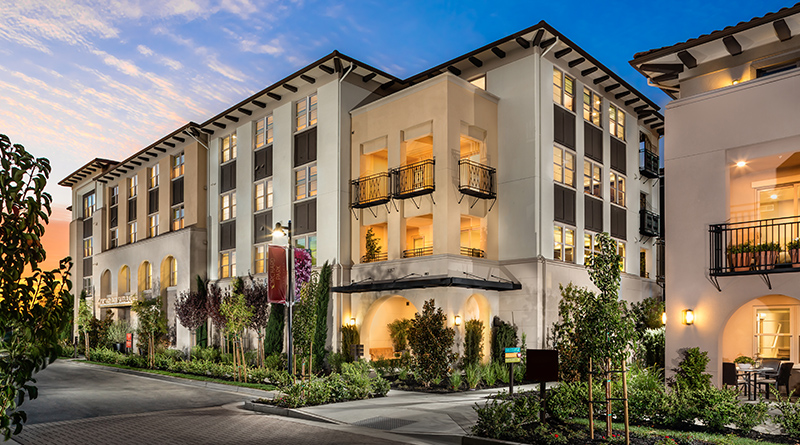Classic california meets the modern era builder and for Multi storey apartment modern design