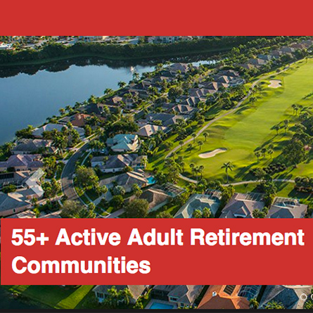 active adult builder by community retirement