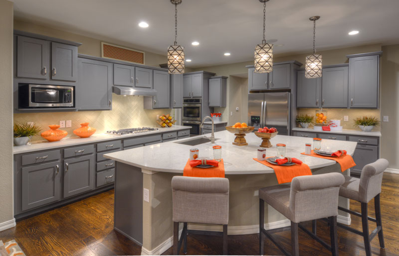 A well furnished kitchen showing the benefits of interior merchandising