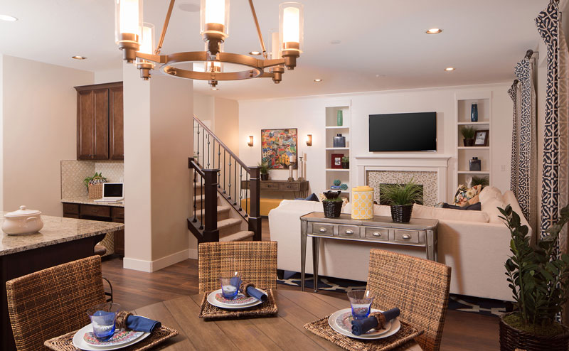 The eight open-concept, two-story floor plans range from 1,935 to 2,730 square feet with 2 to 6 bedrooms, 2.5 to 4 bathrooms, and range in price from the low to mid $200s.