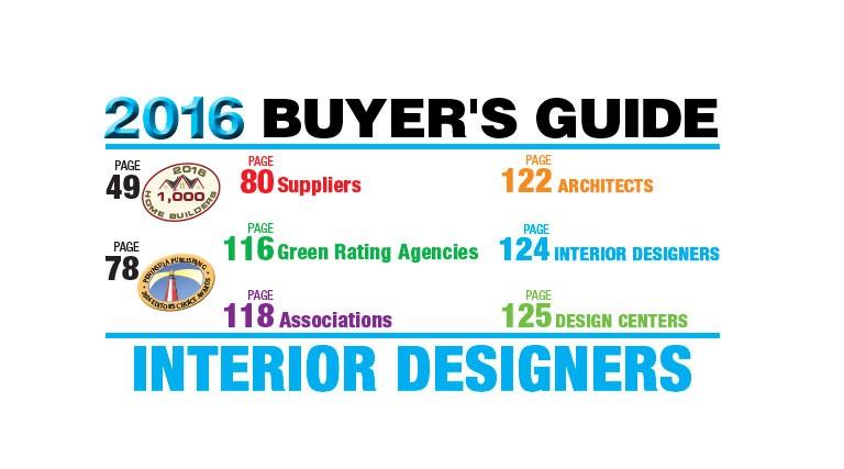 SourceBook 2016 Interior Designers