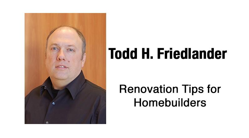 Renovation Tips for Homebuilders