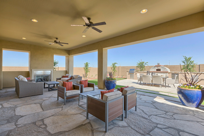 Each home is more spacious than your average 55+ home and offers more open space for entertaining, parties, or just having room for the grandkids to play.