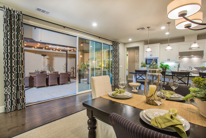 The 91 single-family homes at Cadence offer four plan types and a variety of styles which include a mix of two and three stories with three to six bedrooms and up to four bathrooms.