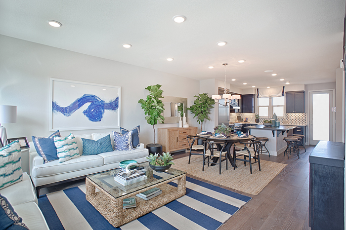 The homes at Alameda Landing were designed and constructed to TRI Pointe's LivingSmart® commitment to embrace an environmentally-conscious lifestyle.