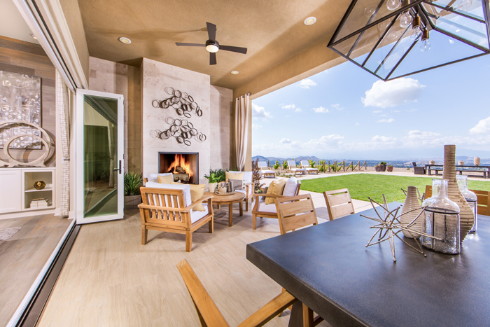 Embodying quintessential California living, the expansive home sites are designed to maximize views and create enticing outdoor living areas.