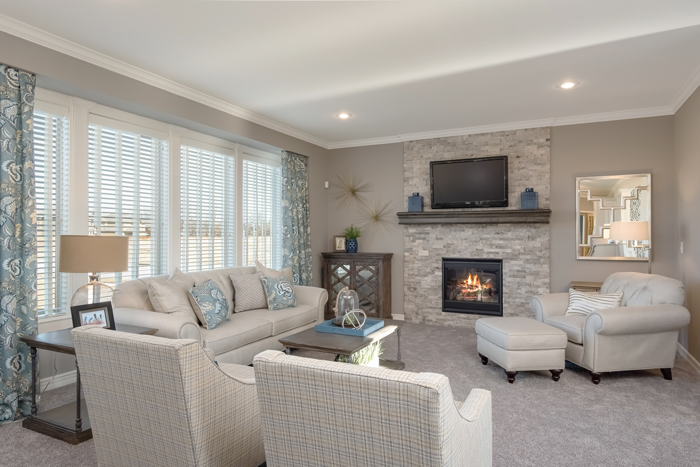 Summit only installs direct vent sealed combustion gas fireplaces to ensure that families can receive safe and healthy air circulation.