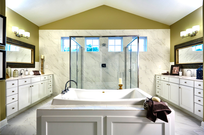 Building custom has a point: get everything you want. Schumacher works creatively with clients to give them their dream home.