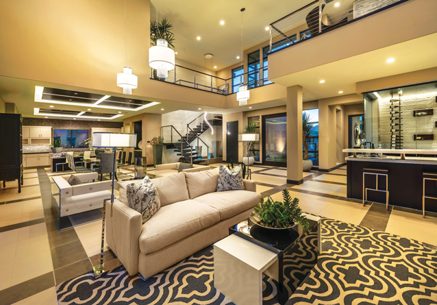 In addition to the myriad desirable aspects of Silver Ridge at The Ridges' contemporary designs, each of the three elegant elevations in one- and two-story iterations benefit from the exclusive use of the resort style amenities inside the guard-gated enclave of The Ridges at Summerlin.