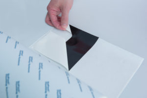 "The new 12"" DuPont™ Flashing Tape features a 3-piece asymmetrical release liner"