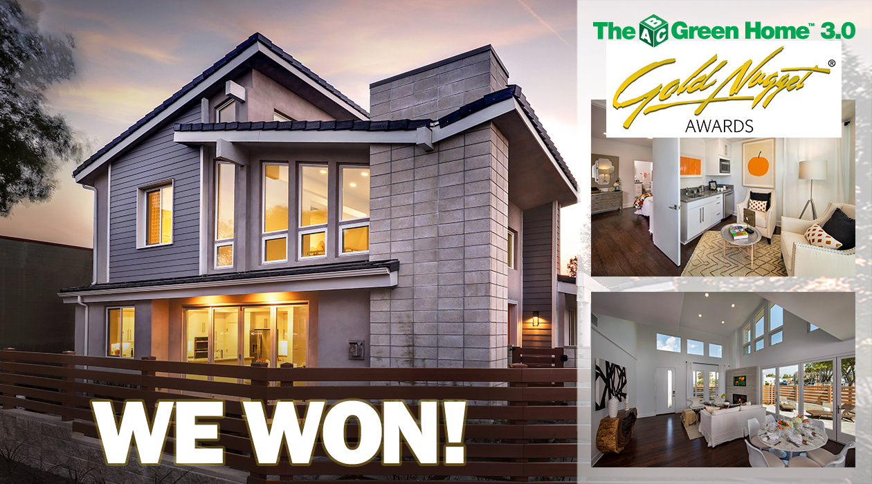 bdmag new u s home builder news abc green home 3 0 wins gold nugget