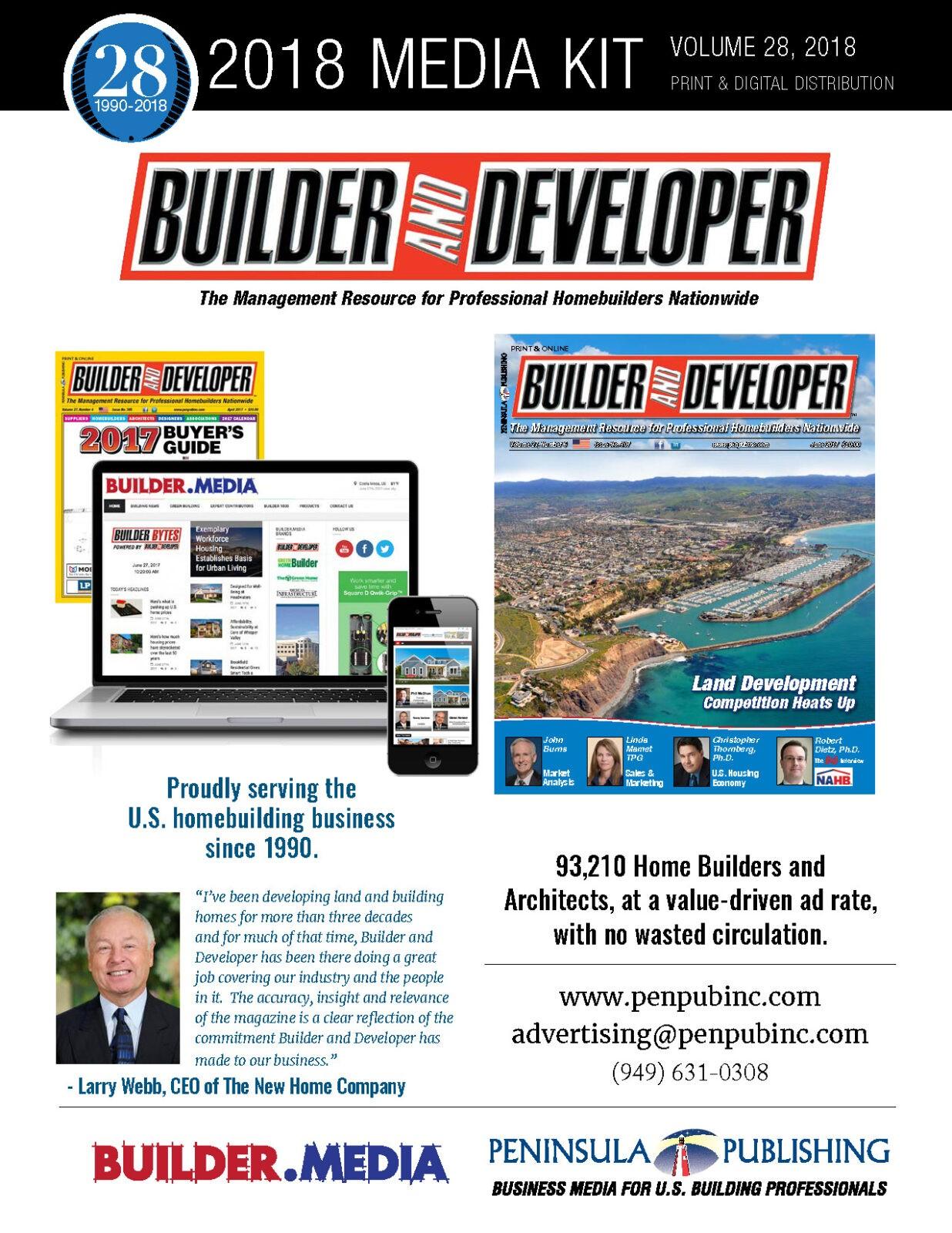 Advertise Home Builder Media Kit Builder And Developer