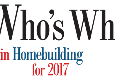 Who's Who in Homebuilding for 2017