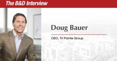 The B&D Interview: Doug Bauer, CEO, Tri Pointe Group