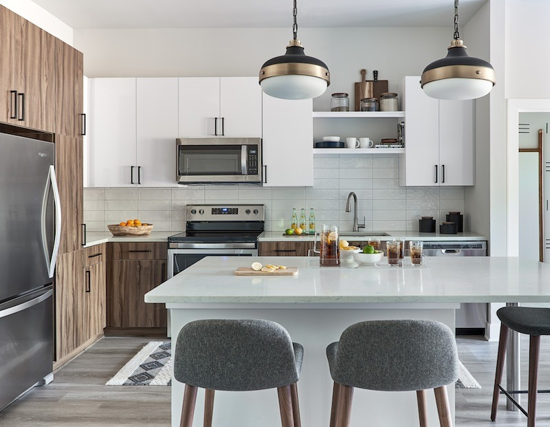 """Millenials want kitchens """"their way."""" Not necessarily smaller, but simpler, healthier, and smarter with as much visibility and natural light as possible."""
